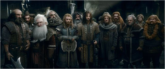 O Hobbit: A Batalha dos Cinco Exércitos : Foto Aidan Turner, Billy Connolly, Dean O'Gorman, Graham McTavish, Jed Brophy