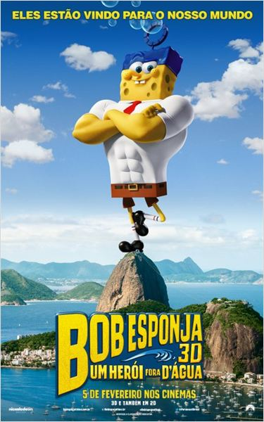 Bob Esponja - Um Herói Fora D'Água : Poster