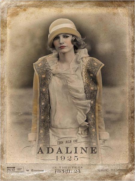 A Incrível História de Adaline : Poster