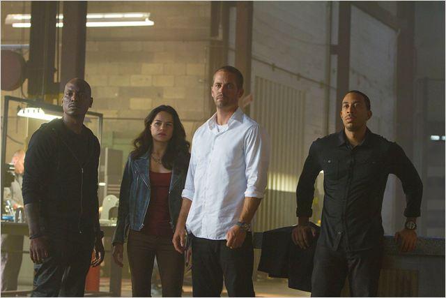 Velozes & Furiosos 7 : Foto Ludacris, Michelle Rodriguez, Paul Walker, Tyrese Gibson