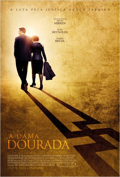 A Dama Dourada : Poster