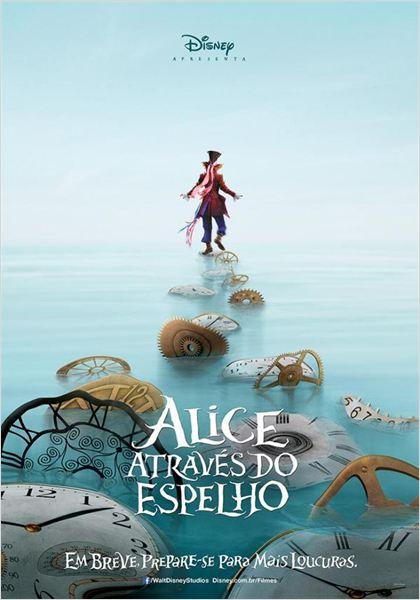 Alice Através do Espelho : Poster