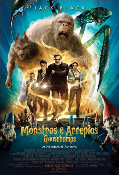 Goosebumps: Monstros e Arrepios : Poster