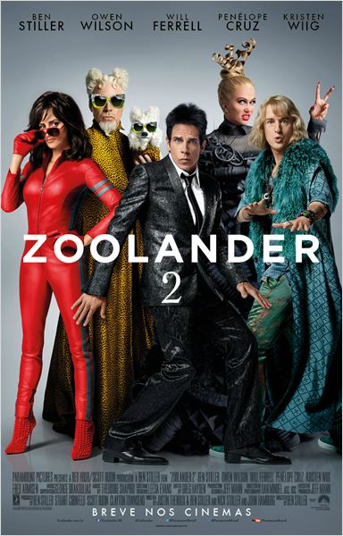 Zoolander 2 : Poster