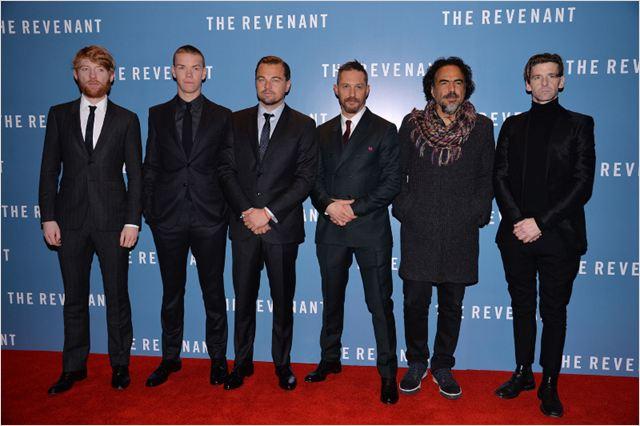 O Regresso : Vignette (magazine) Alejandro González Iñárritu, Domhnall Gleeson, Leonardo DiCaprio, Paul Anderson, Tom Hardy
