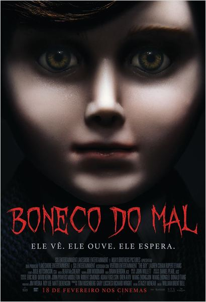 Boneco do Mal : Poster