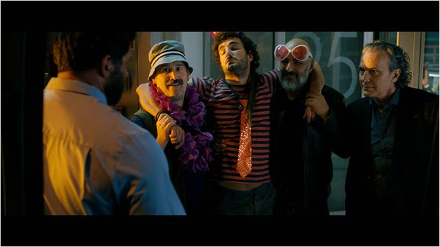 Foto Javier Cámara, José Coronado, Miki Esparbé, Roberto Álamo