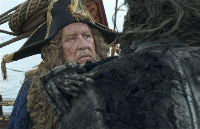 Piratas do Caribe - A Vingança de Salazar : Foto Geoffrey Rush