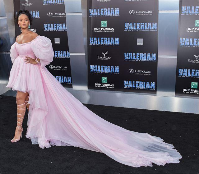 Valerian e a Cidade dos Mil Planetas : Vignette (magazine) Rihanna
