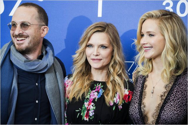 Mãe! : Vignette (magazine) Darren Aronofsky, Jennifer Lawrence, Michelle Pfeiffer