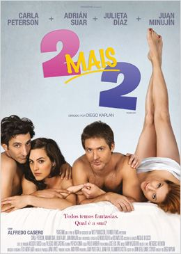 Baixar Filme 2 Mais 2 DVDRip XviD Dual Audio Dublado – Torrent