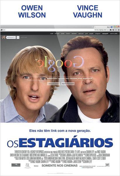 Os Estagiários : Poster