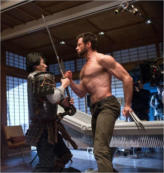 Wolverine: Imortal : Foto Hiroyuki Sanada, Hugh Jackman