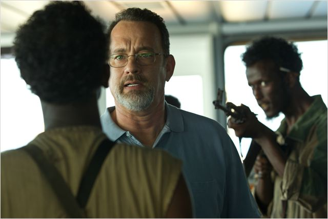 Capitão Phillips : Foto Tom Hanks