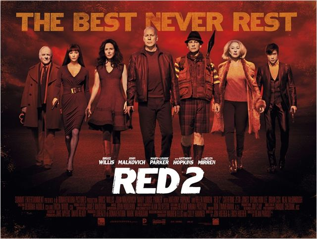 RED 2 - Aposentados e Ainda Mais Perigosos : Poster