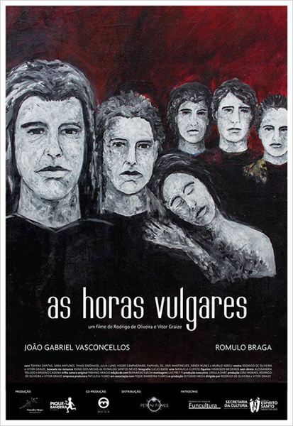 As Horas Vulgares : Poster