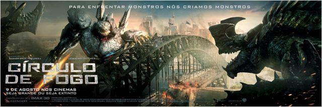 Círculo de Fogo : Poster