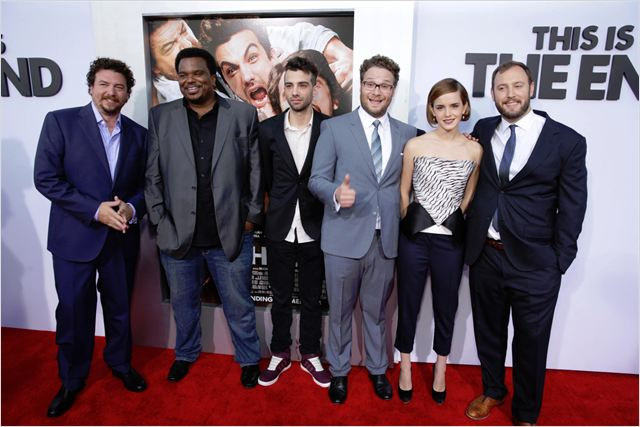 É o Fim : Vignette (magazine) Craig Robinson, Danny McBride, Emma Watson, Evan Goldberg, Jay Baruchel