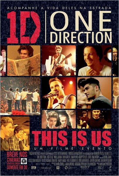 One Direction: This Is Us : Poster