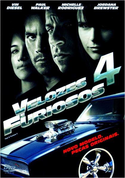 Velozes & Furiosos 4 : Poster