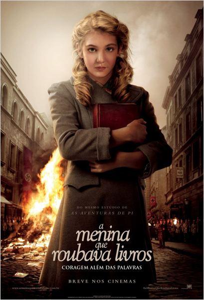 A Menina que Roubava Livros : Poster