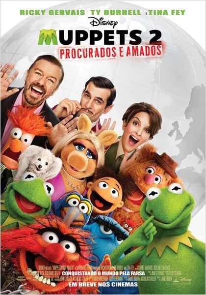 Muppets 2 - Procurados e Amados : Poster