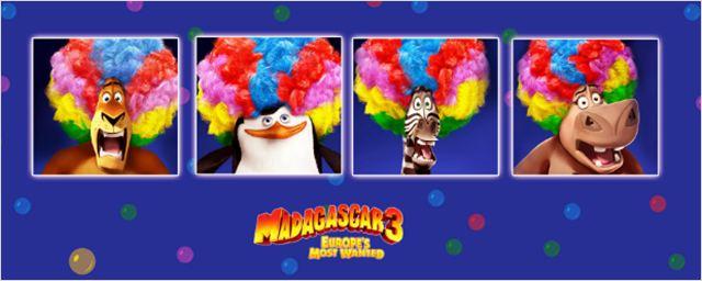 Bilheterias Brasil: Em três dias, Madagascar 3 leva mais de um milhão de pessoas aos cinemas