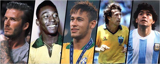 Jogadores de futebol que se arriscaram na TV e no cinema