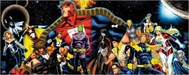 Sucesso da Marvel com os Guardiões da Galáxia? Contra-ataque da DC com a Legião dos Super-Heróis!