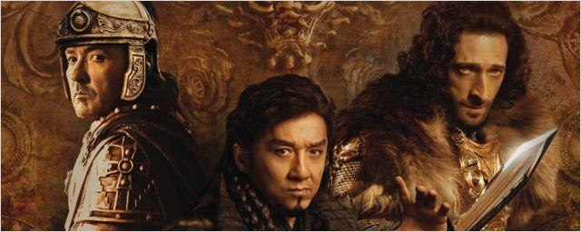 John Cusack, Jackie Chan e Adrien Brody são guerreiros no novo cartaz de Dragon Blade