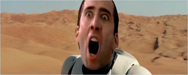 Nicolas Cage, Wes Anderson e Guardiões da Galáxia inspiram paródias de Star Wars - O Despertar da Força