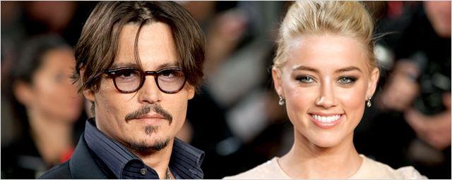 Johnny Depp e Amber Heard se casam