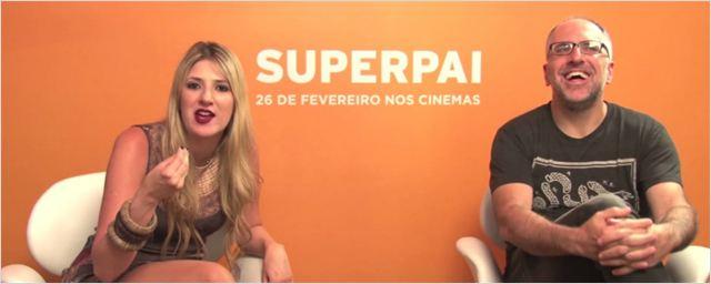 Exclusivo: Elenco diz por que acha que Superpai é uma comédia diferente