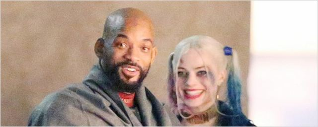 Arlequina e Pistoleiro aparecem bem juntinhos em novas fotos do set de Esquadrão Suicida