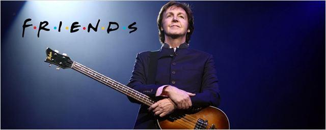 Paul McCartney recebeu convite para atuar em Friends