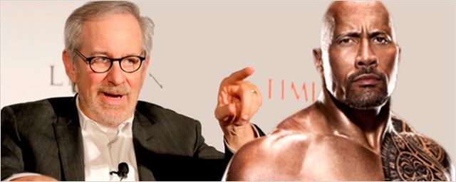 Dwayne Johnson recebeu a cartinha de um fã muito especial: Steven Spielberg