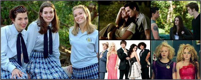 Qual é a verdadeira idade dos adolescentes dos filmes dos anos 2000?