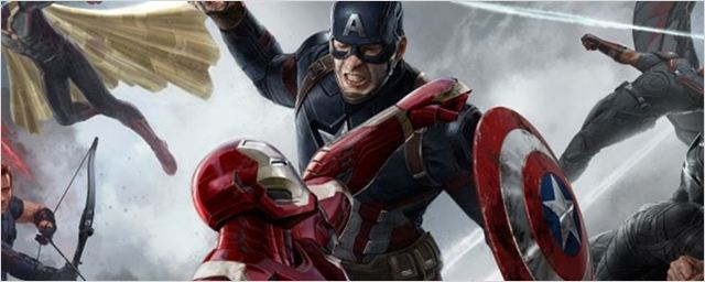 Capitão América: Guerra Civil ganha nova imagem conceitual que mostra embate épico entre heróis