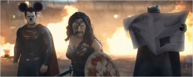 Hora de morrer de rir com a paródia bizarra do trailer de Batman Vs Superman