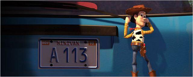 Por que a Pixar usa o código a113 em seus Easter Eggs?