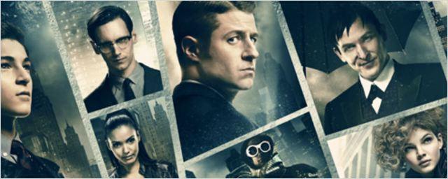 Vilões à solta no novo cartaz de Gotham