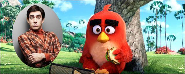 Marcelo Adnet dá voz ao rabugento Red no trailer dublado de Angry Birds - O Filme