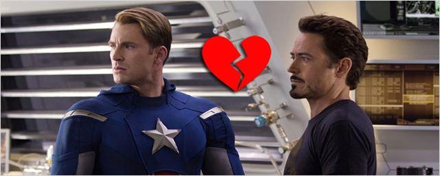 Marvel aproveita data inventada pelo Facebook para celebrar a (des)amizade de Capitão América e Homem de Ferro