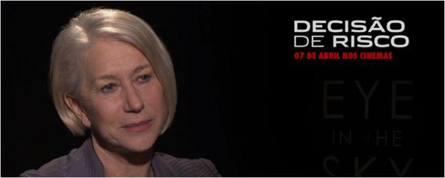 Exclusivo: 'A história' foi o que atraiu Helen Mirren e Alan Rickman ao projeto de Decisão de Risco