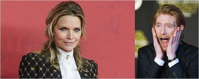 Michelle Pfeiffer e Domhnall Gleeson negociam papéis no próximo filme de Darren Aronofsky