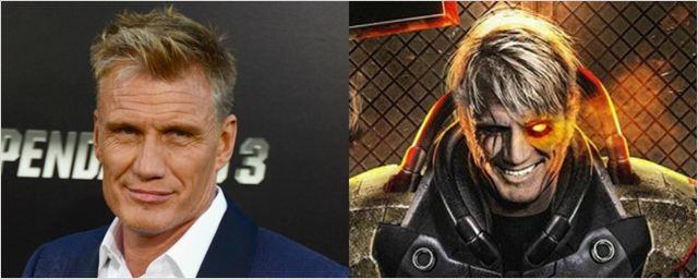 Fan art mostra Dolph Lundgren como Cable em Deadpool 2