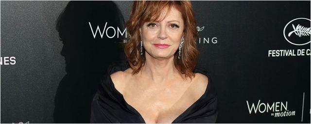 """Susan Sarandon critica Woody Allen: """"Acredito que ele abusou sexualmente de uma criança"""""""