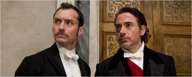 """Produtor de Sherlock Holmes 3 fala sobre as chances de filmagens em 2016: """"Jude e Downey estão disponíveis"""""""