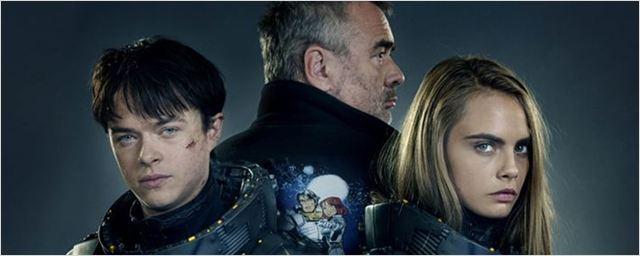 Cara Delevingne e Dane DeHaan aparecem em nova imagem de Valerian and the City of Thousand Planets