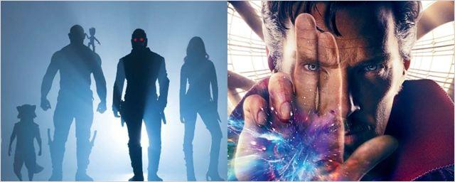 Marvel revela novas sinopses de Guardiões da Galáxia 2 e Doutor Estranho